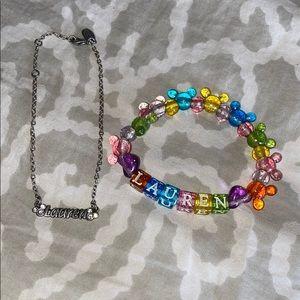 """Disney """"Lauren"""" Bracelets"""